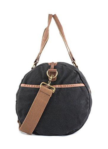 48e3c85f6c Gootium Vintage Canvas Duffle Bag Carry-on Weekender Sports Gym Bag