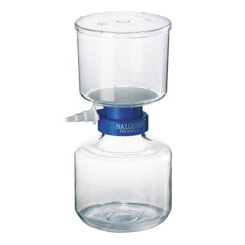 Nalgene 595-3320 Bottle Top Filter, Supor machV membrane, 33mm Neck Size, 0.20 Micron, 75mm Membrane Diameter, 500mL Capacity (Case of 12) by Nalgene