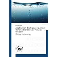 Application des tiges de palmier dans l'adsorption de métaux toxiques: Chimie et Environnement