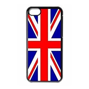 Grunge British Flag iPhone 5c Cell Phone Case Black aziy