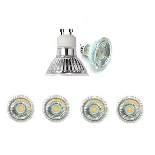 Gu10 6W Led Light Bulbs - 3