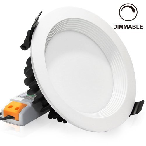 15Watt LED recessed lighting fixture ceiling light dimmable downlight replace 100W halogen 5inch remodel and new construction