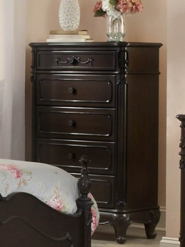 Home Elegance Cinderella Chest by in Dark Cherry ()