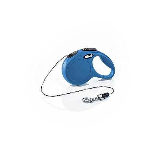 Flexi Classic Cord Leash, X-Small Cord, 10-Feet - Blue ()