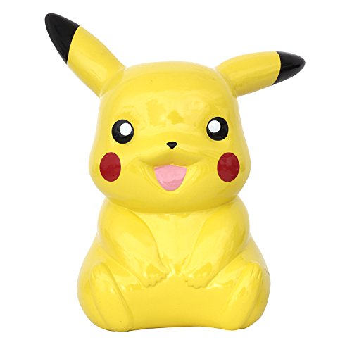 Fab Star Kid's Pikachu Bank, Yellow