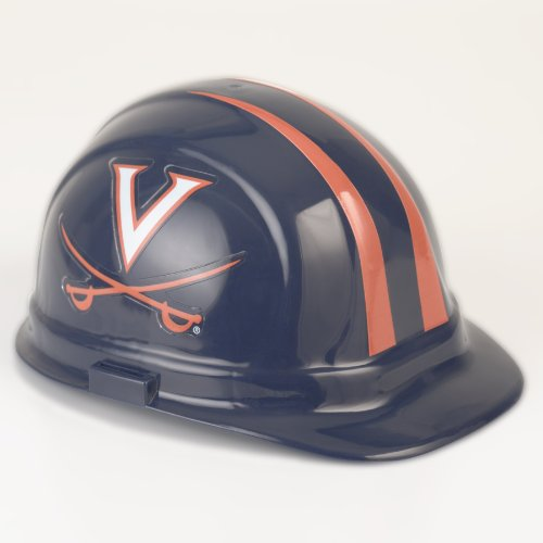 Virginia Cavaliers Team Helmet (NCAA Virginia Cavaliers Hard Hat, One Size)