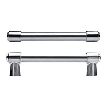Griffe Ikea ikea varnhem handle stainless steel colour 2 pack 154 mm