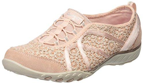 Skechers Breathe-Easy-Sweet Darling, Sneakers Basses Femme Rose (Pksl)