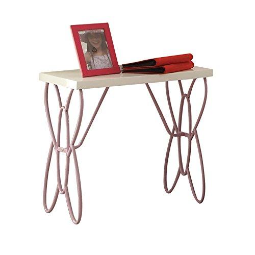 (Acme Furniture 30538 Priya II Nightstand, White & Light Purple)