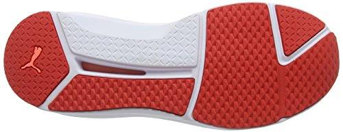 Fierce white Mujer Zapatillas Deportivas para Red Poppy Evoknit para Rojo Puma Interior qfdwPq