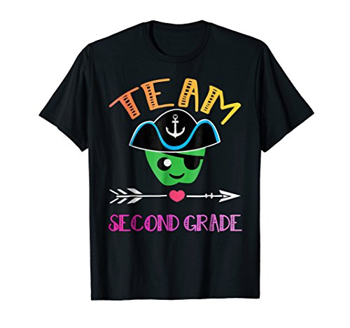 Team Second Grade teacher T shirt Awesome gift pirate ideas