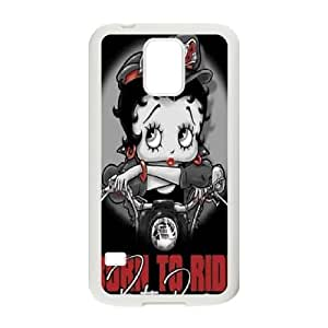 Good Quality Phone Case With HD Betty Boop Images On The Back , Perfectly Fit To Samsung Galaxy S5
