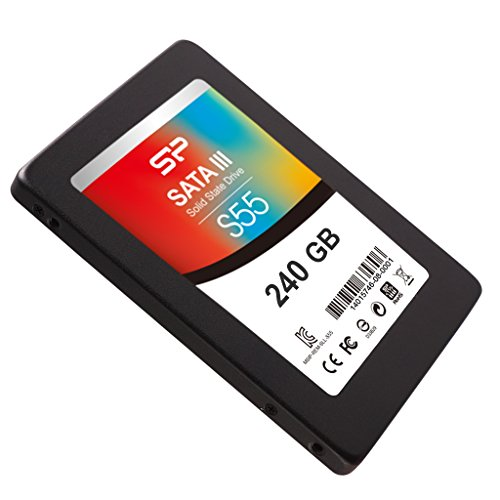 240GB Silicon Power SATA III SSD S55 2.5-inch TLC Ultra-slim 7mm (read/write: 540/510MB/sec) by Silicon Power (Image #4)