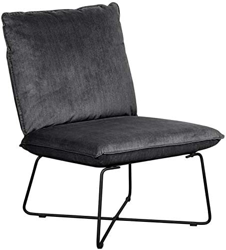 Tommy Hilfiger Ellington Armless Lounge Chair Dark Charcoal