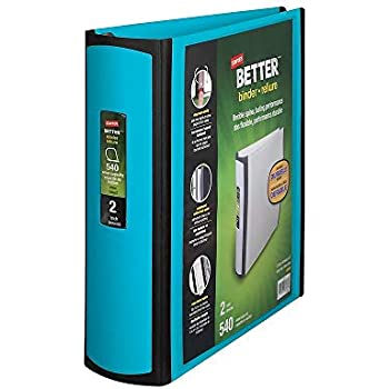 Staples 651743 Better 2-Inch D 3-Ring View Binder Teal (13470-Cc)