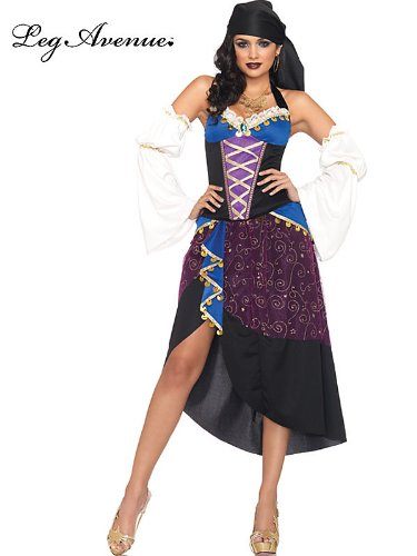 Tarot Card Gypsy Costumes (Tarot Card Gypsy Adult Costume - Medium)
