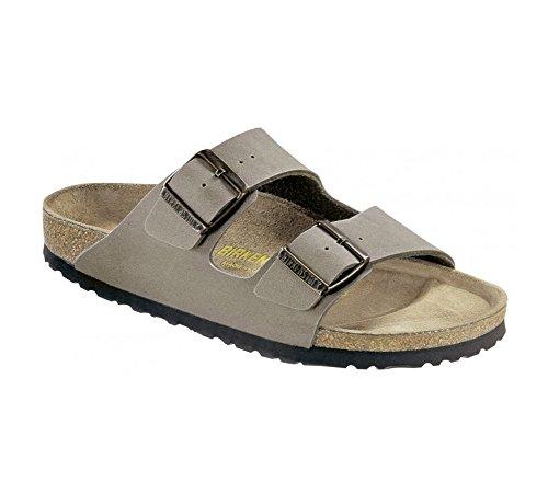- Birkenstock Unisex Arizona Sandal,Stone Birkibuc,40 M EU