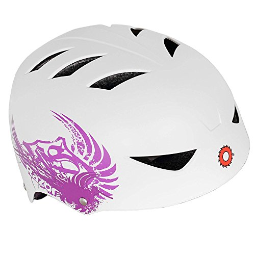Cheap Razor 2 Cool Child Kids Adjustable Bike Cycling Skateboard Helmet, White & Pink