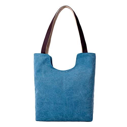 Per Blue Vintage Borse A Da Sunonip Spalla Donna Sky Tela Di wSv8ffOqn