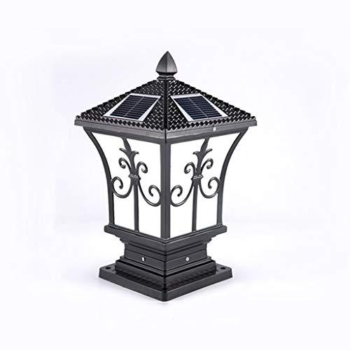 (HWZQHJY Column Lights Solar Lamp Headlight Outdoor Wall Lamp Outdoor Lamp Post Lamp Villa Garden Lamp Rope Lights (Size : H47CM))