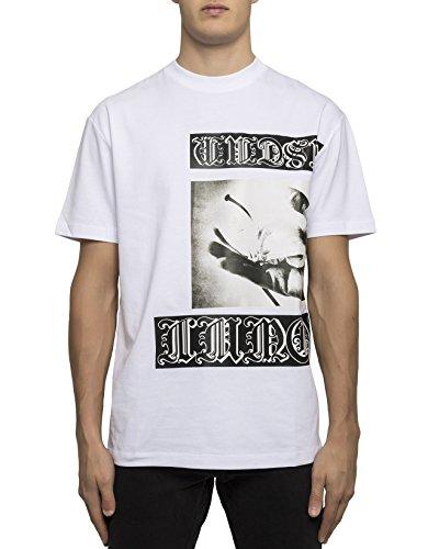 McQ Alexander McQueen Men's 291571Rjr409000 White Cotton T-Shirt