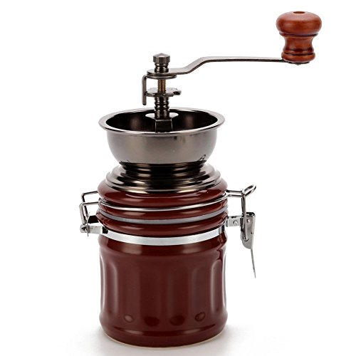 3. 3E Home Manual Ceramic Burr Coffee Grinder