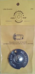Original Willard Lederformer Snooker R250