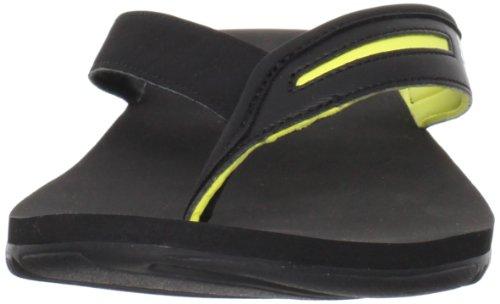 Adidas Mannen Calo 4 Sandaal Zwart / Prime Geel / Wit