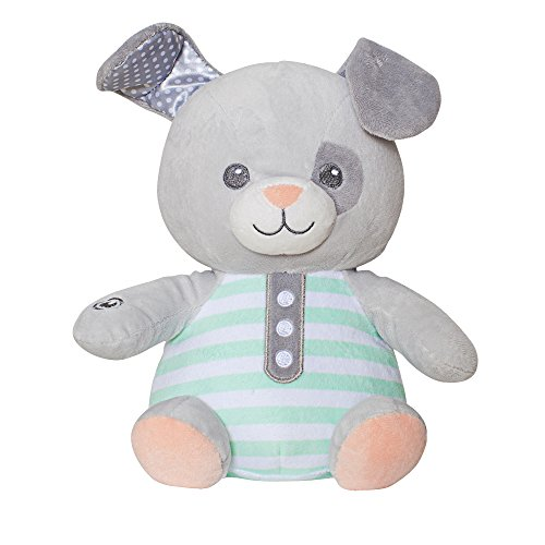 Soft Dreams Music and Vibration Buddy, Grey/White, Puppy by Soft Dreams