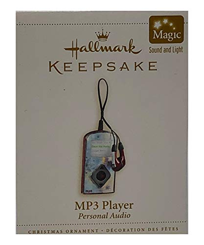 Hallmark Keepsake Ornament – MP3 Player Personal Audio 2006, Magic Sound and Light ()