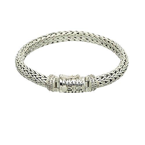 Bouddha to Light Handmade Argent Sterling Biker Bracelet Wire eie 349eur