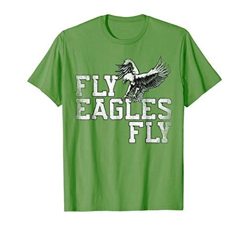 Philadelphia Eagles Tee - Fly Eagles Fly T Shirt ~ Flying Eagles TShirt Women Men Kids