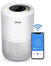 LEVOIT Air Purifiers for Bedroom, Works with Alexa,Quiet Smart WiFi Air Purifier for Home Allergies Pets Smokers, H13 True HEPA Filter Removes 99.97% Smoke Dust Mold Pollen,Sleep Mode,Timer,Core 200S