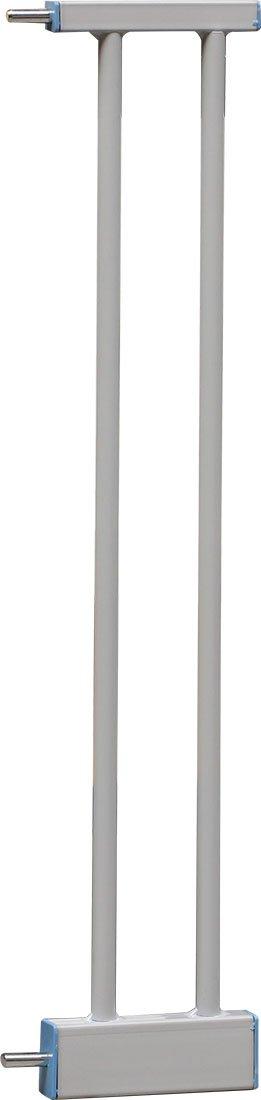 Breite 7 cm 3 Abmessungen w/ählbar| Verbreitung Verl/ängerung f/ür Klemmgitter Verl/ängerungsteil f/ür T/ürgitter Megane weiss IB-Style