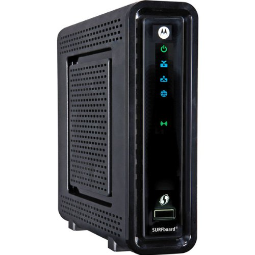 Motorola SBG6580 SURFboard eXtreme 3.0 Wireless Cable Modem Gateway - Latest Version