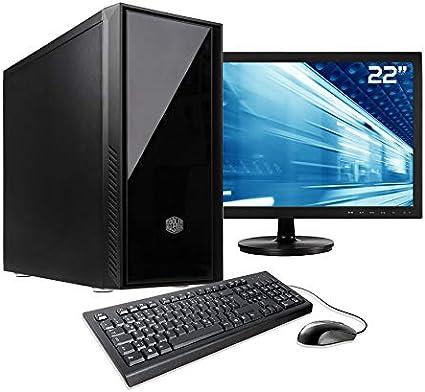 Sedatech Pack PC Oficina Intel i7-9700K 8X 3.6Ghz, 16Gb RAM DDR4 ...