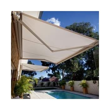 STRONG 13u0027w X11.5u0027d Outdoor Patio Cover Yard Awning Retractable Sun