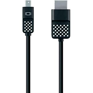 Belkin F2CD044BT12 Mini DisplayPort to HDMI Cable, Black from Belkin