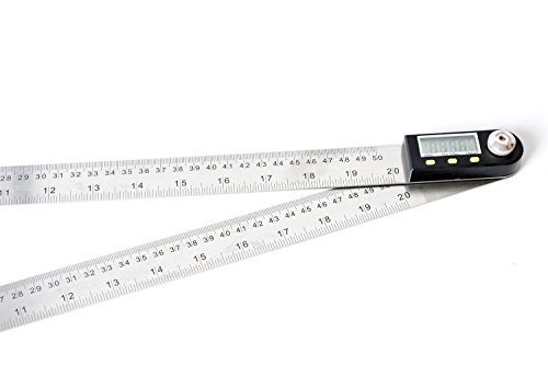 Meba 20 Inches Stainless Steel Digital Angle Ruler Goniometer,angle Finder Ruler,angle Ruler Definition,ruler Angle, by MEBA (Image #1)