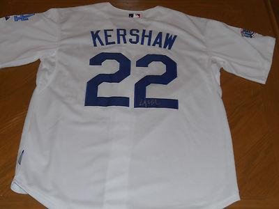 Clayton Kershaw Signed Jersey - Autographed MLB Jerseys at Amazon s ... b9a9034c282
