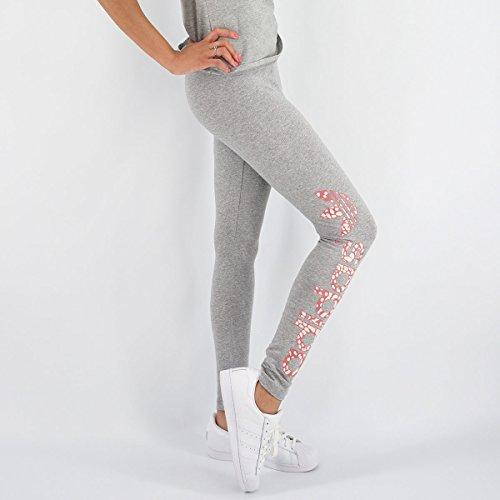 adidas Originals Women's Trefoil Update Leggings, Medium Grey Heather, X-Large