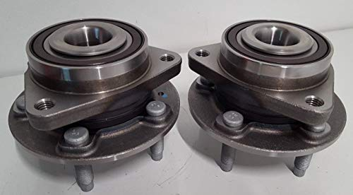 Set of 2 GM Original Equipment Front Wheel Hub and Bearing Assembly with Wheel Studs OEM 13585467