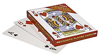 Gigante de la novedad juego de cartas ideal para ferias y ...