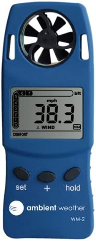 Ambient Weather WM-2 Handheld Weather Meter / digital anemometer