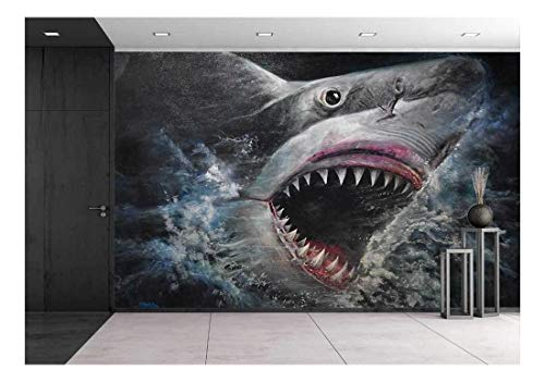 Painting 3D Sharks