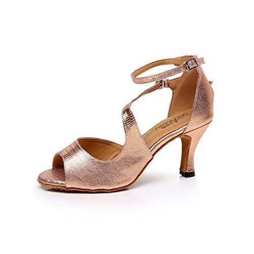 5c1a4d38 Zapatillas De Baile Latino Interior Para Mujeres Salsa / Tango / Té / Samba  / Moderno