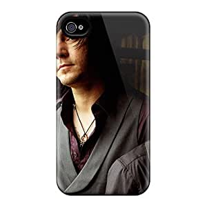 Protector Hard Phone Covers For Iphone 4/4s With Customized Trendy Three Days Grace Pattern LauraFuchs