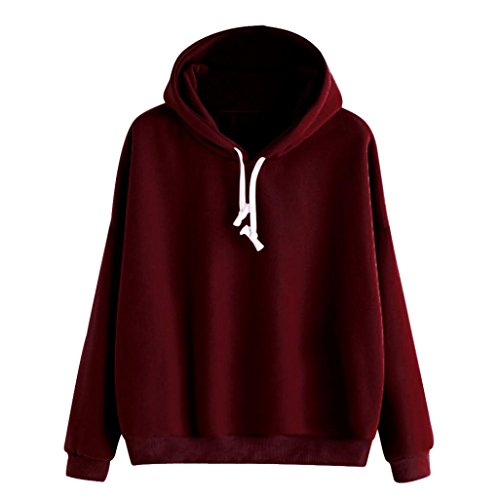 Price comparison product image Jushye Women Hoody,  Ladies Autumn Embroidery Applique Long Sleeve Hoodie Sweatshirt Jumper Hooded Pullover Tops Blouse (S