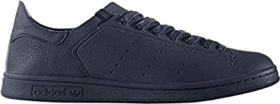 premium selection 74cd6 1b385 Image Unavailable. Image not available for. Color adidas Originals Mens Stan  Smith Leather Sock ...