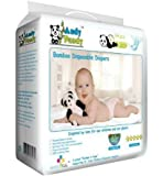 Andy Pandy Premium Bamboo Disposable Diapers, Small, 94 Count